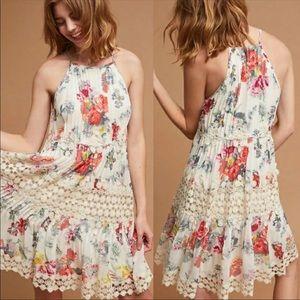 Ranna Gill Anthropologie Kalila Floral Dress